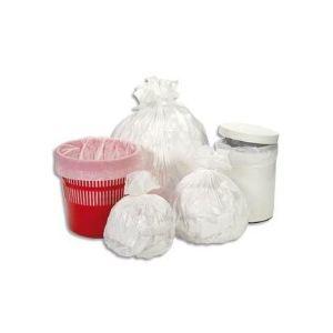 Delaisy kargo Lot de 1000 sacs poubelle 12 microns (10 L)