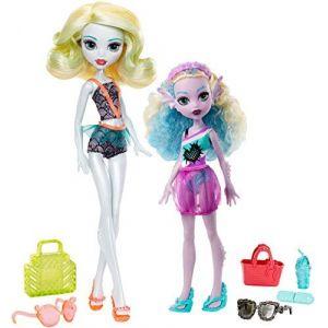 Mattel Poupées Monster High Famille des goules : Famille Lagoona