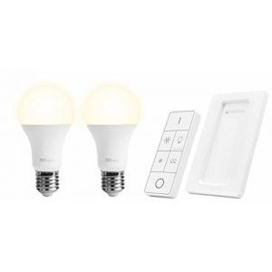 Trust Smart Home Trust ALED2-2709R 2 ampoules led dimmables + télécommande