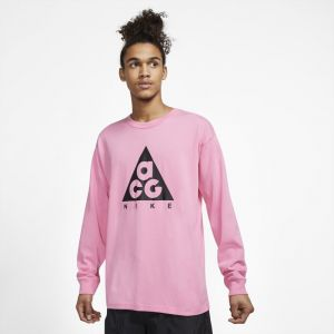 Nike Tee-shirt à manches longues ACG - Rose Taille S - Unisex