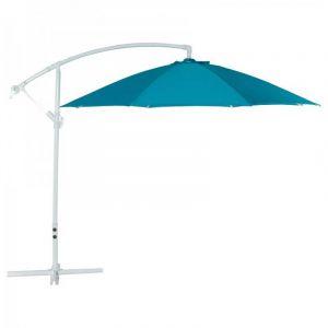 Kokoon Design Grand parasol bleu SUNA