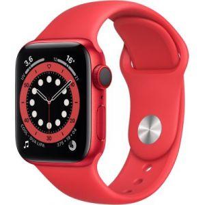 Apple Watch 40MM Alu Rouge/Rouge Series 6 Cellular - Montre connectée