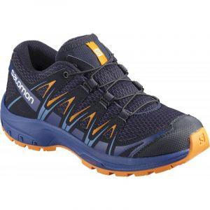 Salomon XA Pro 3D J, Chaussures de Trail Running, Mixte Enfant Bleu (Medieval Blue/Mazarine Blue Wil/Tan)39 EU