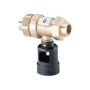 Socla 149B2886 - Disconnecteur antipollution à zone de pression réduite non contrôlable CA296 femelle-femelle dn : 20 laiton