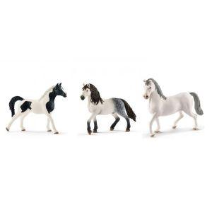 Schleich Figurines de chevaux etalon (pintabian, andalou, lipizzan)