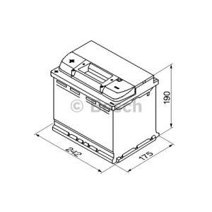 batterie auto 60 ah 540 a comparer 33 offres. Black Bedroom Furniture Sets. Home Design Ideas