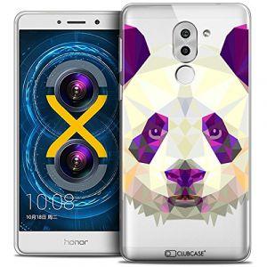 Clubcase Coque Gel Huawei Honor 6X Extra Fine Polygon Animals - Panda