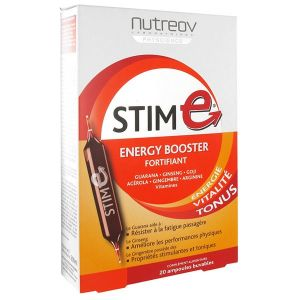 Nutreov Stim E Fortifiant Energy Booster (20 ampoules)