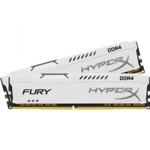 Kingston HyperX Fury White DDR4 2 x 8 Go 3466 MHz CAS 19