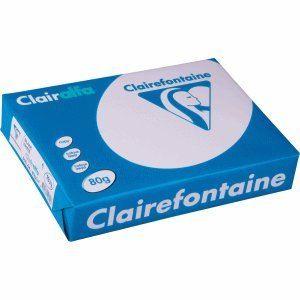 Clairefontaine 1979 - Ramette de 500 feuilles Clairalfa A4 coloris blanc 80g