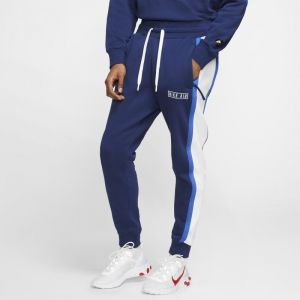 Nike Pantalon en tissu Fleece Air Homme - Bleu - Taille 2XL - Male