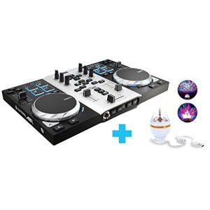 Hercules DJ Control Air S Series Party Pack - Surface de Contrôle MIDI DJ
