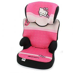 mycarsit Siège auto réhausseur groupe 2/3 Hello Kitty
