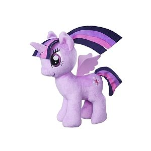 Hasbro My Little Pony - Peluche 25cm - Princess Twilight Sparkle (C0107)