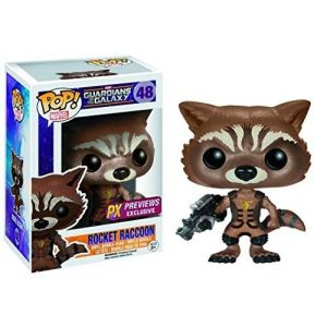 Funko Pop! Guardians of The Galaxy Ravager Rocket Raccoon