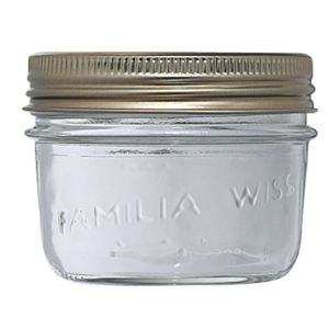 Le Parfait 6 terrines Familia Wiss en verre (200 g)