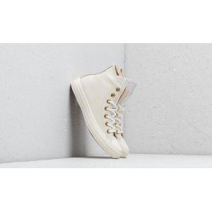 Converse All Star Hi W chaussures beige or 36 EU