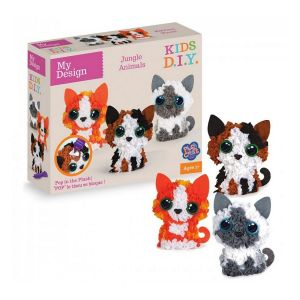 Orb factory Plushcraft My Design Kitten 3D Minis