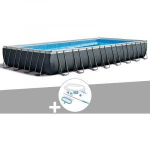 Intex Kit piscine tubulaire Ultra XTR Frame rectangulaire 9,75 x 4,88 x 1,32 m + Kit d'entretien