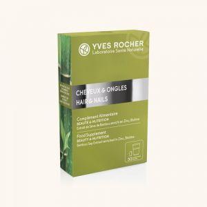 Yves Rocher Complément alimentaire - Cheveux et ongles 30 comprimés