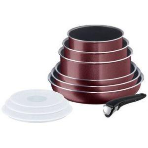 Tefal Cook'n Clean Ingenio - Batterie de cuisine 10 pièces