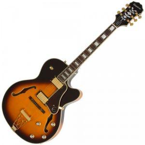 Epiphone Joe Pass Emperor-II PRO Guitare électrique Vintage Sunburst