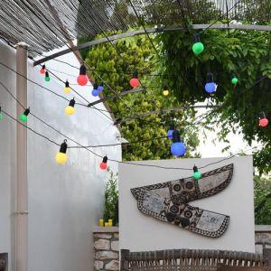 Blachère illumination Guirlande fête blanche LED connectable 6 fois