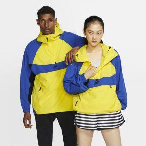 Nike Veste tissée à capuche Sportswear - Jaune - Taille L - Unisex