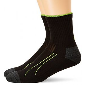 Puma Train Short Sock 2 Pack - Black - Taille 43