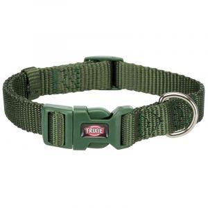 Trixie Premium collier - S: 25-40 cm/15 mm, vert forêt
