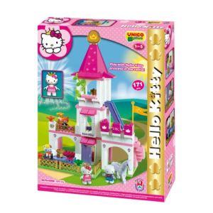 Androni Giocattoli Unico Plus - Grand château Hello Kitty princesse