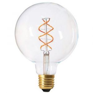 Girard sudron Ampoule Globe G125 Filament LED Twisted E27 5W