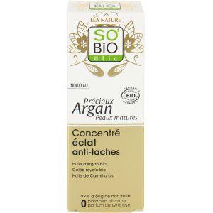 So'Bio Étic Précieux Argan peaux matures - Concentré éclat anti-tâches