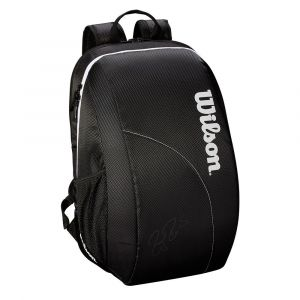 Wilson Sac à dos Federer Team - Black / White - Taille One Size