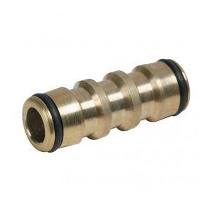Silverline 783093 - Coupleur droit en laiton 1/2