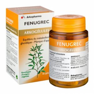 Arkopharma Arkogélules - Fenugrec, 45 gélules