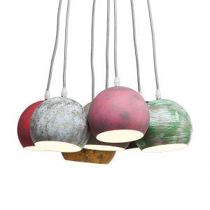 Kare Design Calotta Antico - Suspension multicolore