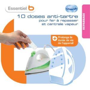 EssentielB 10 doses anti-tartre pour fer et centrale vapeur