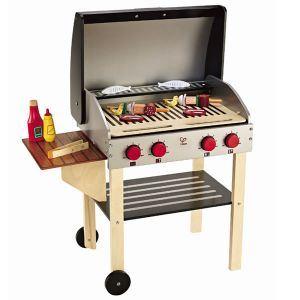 Hape E3127 - Barbecue avec 21 accessoires