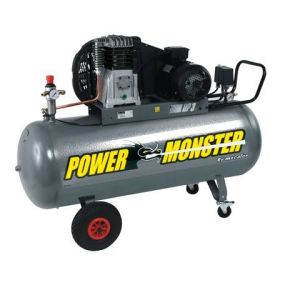 Mecafer 425280 - Compresseur Power Monster 200L 3HP