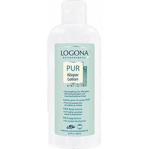 Logona Pur - Lotion pour le corps pour peaux très irritées et sensibles