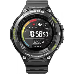 Casio PRO TREK SMART WSD-F21HR-BKAGE Smartwatch Men, black Montres & Ceintures cardio