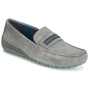 Geox Mocassins UOMO SNAKE MOCASSINO Gris - Taille 41
