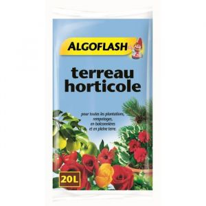 Algoflash Terreau horticole 20 litres