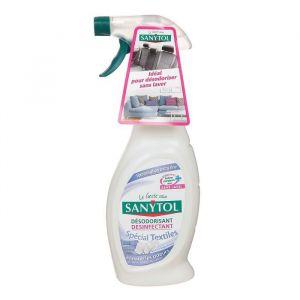 Sanytol Désodorisant textile 500 ml - Lot de 2