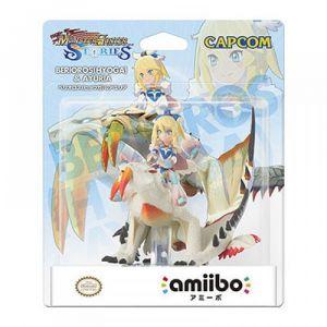 Nintendo Amiibo Barioth Frostfang Avinia Monster Hunter Stories 3DS