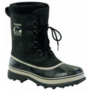 Sorel Chaussures après-ski Caribou - Black / Tusk - Taille EU 45