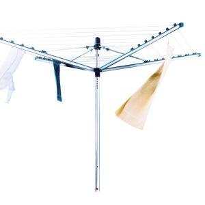 Leifheit Linomatic M 400 - Séchoir de jardin parapluie