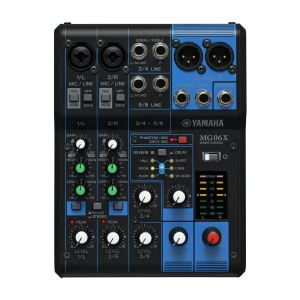 Yamaha MG06X - Table de mixage 6 canaux avec effets