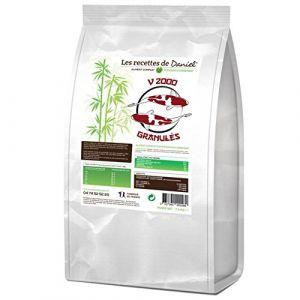 Les recettes de Daniel Aliment Poisson de bassin granules V2000 - 3 kg